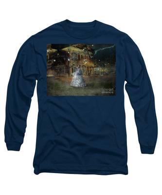 A Haunted Story In Dahlonega Long Sleeve T-Shirt