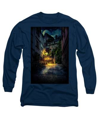 A Wet Evening In Marburg Long Sleeve T-Shirt