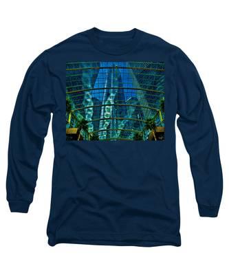 Atrium Gm Building Detroit Long Sleeve T-Shirt