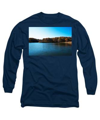 Autumn The In Loess Hills Long Sleeve T-Shirt