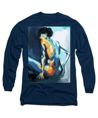 Blue Grace Long Sleeve T-Shirt