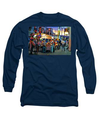 Long Sleeve T-Shirt featuring the photograph El Flamazo by Skip Hunt