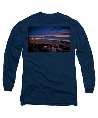 Evening Glow On The Pier Long Sleeve T-Shirt
