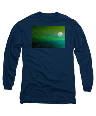 Geese In Flight  Long Sleeve T-Shirt
