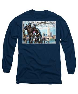 Hoboken War Memorial Long Sleeve T-Shirt