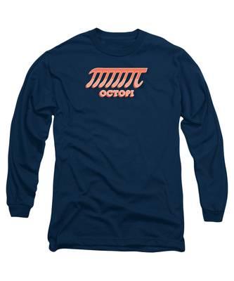 Circular Long Sleeve T-Shirts
