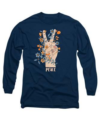 Petals Long Sleeve T-Shirts