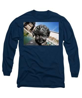Smiling Cherub Long Sleeve T-Shirt