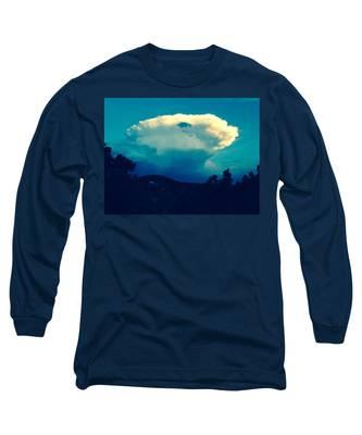 Storm Over Santa Fe Long Sleeve T-Shirt