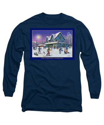 The Morning After At Campton New Hampshire Long Sleeve T-Shirt