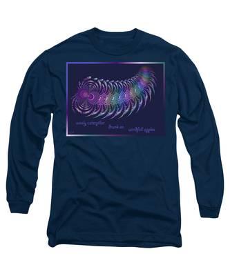 Wooly Caterpillar Haiga Long Sleeve T-Shirt