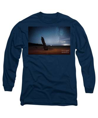 Gower Helvetia At Night  Long Sleeve T-Shirt