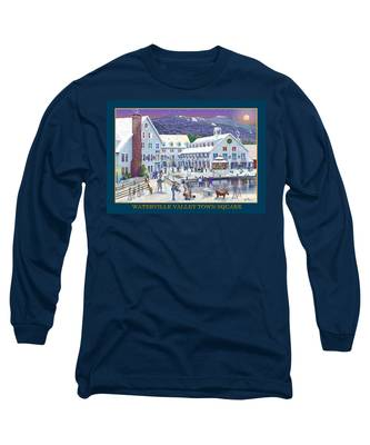 Waterville Valley At Wintertime Long Sleeve T-Shirt