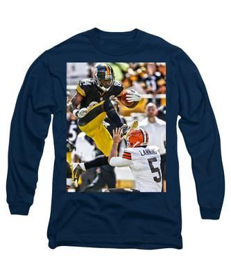 Football Antonio Brown Long Sleeve T-Shirts