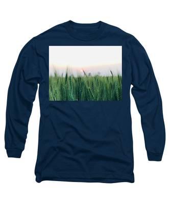 Portrait Long Sleeve T-Shirts