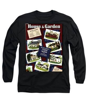 A House And Garden Cover Of Houses Long Sleeve T-Shirt