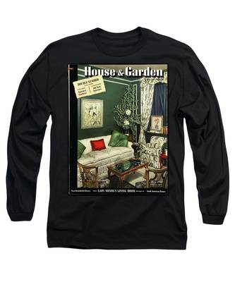 A House And Garden Cover Of Lady Mendl's Sitting Long Sleeve T-Shirt