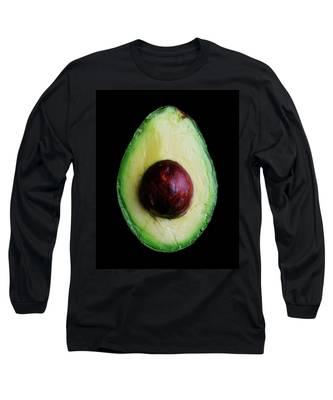 An Avocado Long Sleeve T-Shirt