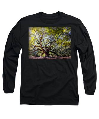 Angel Of Time Long Sleeve T-Shirt