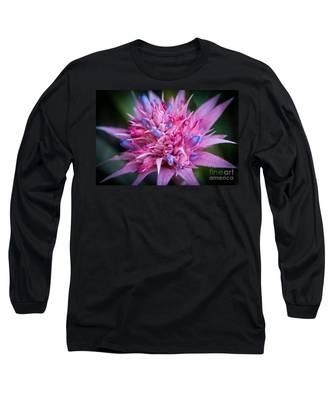 Blooming Bromeliad Long Sleeve T-Shirt