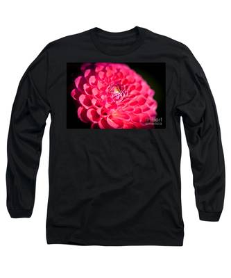 Blooming Red Flower Long Sleeve T-Shirt