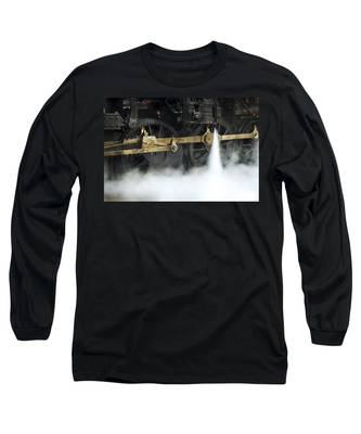 Blowing Of Steam Long Sleeve T-Shirt