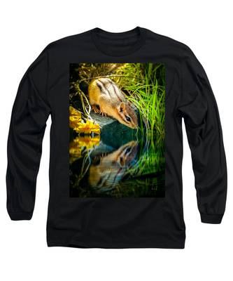 Chipmunk Reflection Long Sleeve T-Shirt