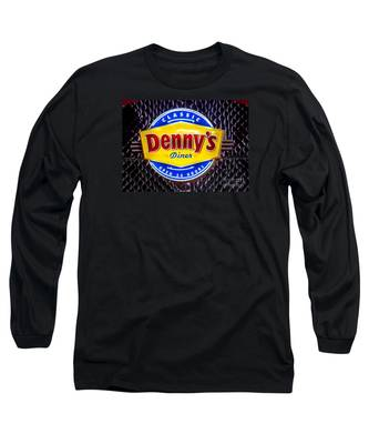 Classic Dennys Diner Sign Long Sleeve T-Shirt