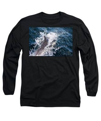Dolphin Splash Long Sleeve T-Shirt