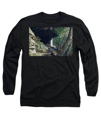 Eaglefalls Trail In Winter Long Sleeve T-Shirt
