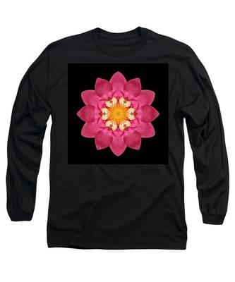 Fragaria Flower Mandala Long Sleeve T-Shirt