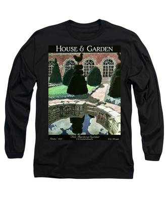House And Garden Fall Planting Number Cover Long Sleeve T-Shirt