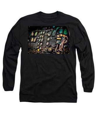 Huey Instrument Panel Long Sleeve T-Shirt