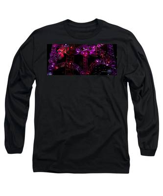 Lighting At Conagra Skating Rink Long Sleeve T-Shirt