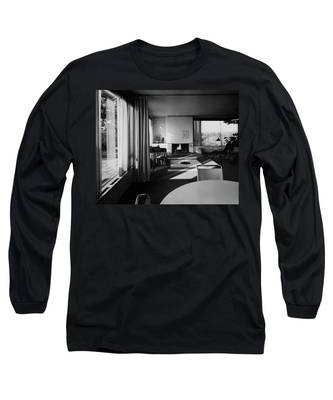 Living Room In Mr. And Mrs. Walter Gropius' House Long Sleeve T-Shirt