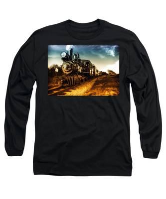 Locomotive Number 4 Long Sleeve T-Shirt