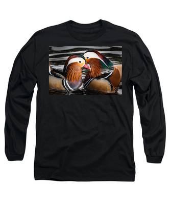 Mandarin Lovers Long Sleeve T-Shirt