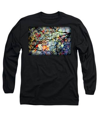 Natures Stained Glass Long Sleeve T-Shirt