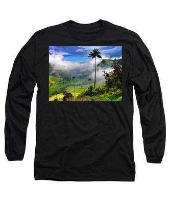 Long Sleeve T-Shirt featuring the photograph Nephilim by Skip Hunt