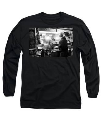 New York City Street Vendor Long Sleeve T-Shirt