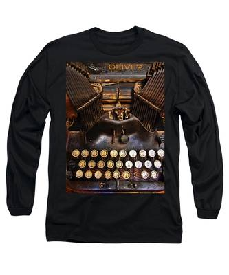 Long Sleeve T-Shirt featuring the photograph Oliver by Skip Hunt