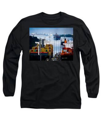 Panama Canal Express Long Sleeve T-Shirt