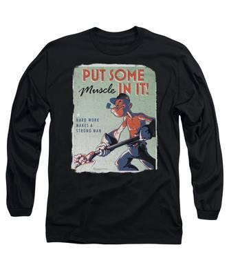 Hard Work Long Sleeve T-Shirts
