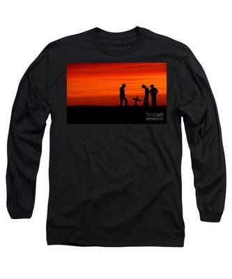 Cowboy Reverence Long Sleeve T-Shirt