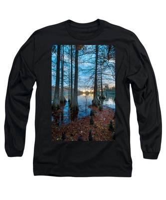 Steinhagen Reservoir Vertical Long Sleeve T-Shirt
