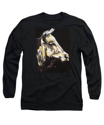 Texas Longhorn Profile Long Sleeve T-Shirt