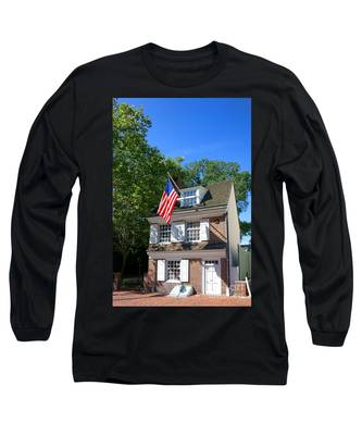 The Betsy Ross House Long Sleeve T-Shirt