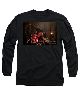 The Cowgirl Rest Long Sleeve T-Shirt