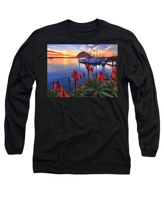 Tranquil Harbor Long Sleeve T-Shirt