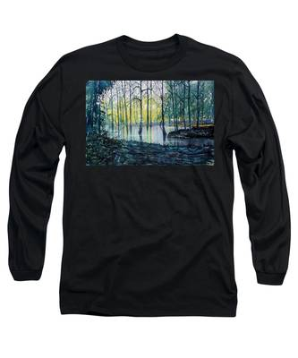 Wetlands On Skipwith Common Long Sleeve T-Shirt